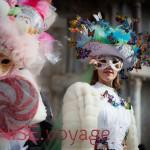 photos insolites du carnaval de Venise