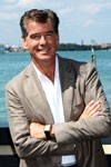 Pierce Brosnan à Venise
